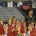 Carlos Corts visita el Fénix Camp de Fundación Club Baloncesto Granada