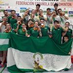 Doblete para Andalucía en el Campeonato de España infantil y cadete de selecciones en bádminton
