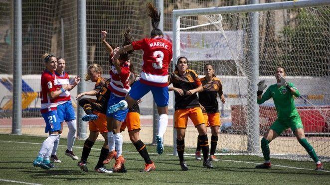 La primera victoria del Granada CF Femenino en la nueva categoría