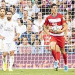 El Granada CF exhibe su espíritu de lucha en el Bernabéu tras un flojo primer acto