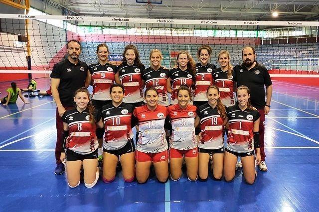 Nevadis Albolote CV'16 consigue un triunfo local frente Altealife en voleibol femenino