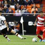 El Granada CF pierde el pulso con el Valencia en Mestalla