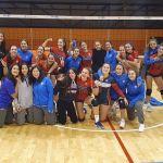 El Club Deportivo Universidad de Granada rentabiliza su condición de invicto en voleibol femenino