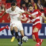 El Granada CF superado en el Pizjuán por un Sevilla FC de inicio fulgurante