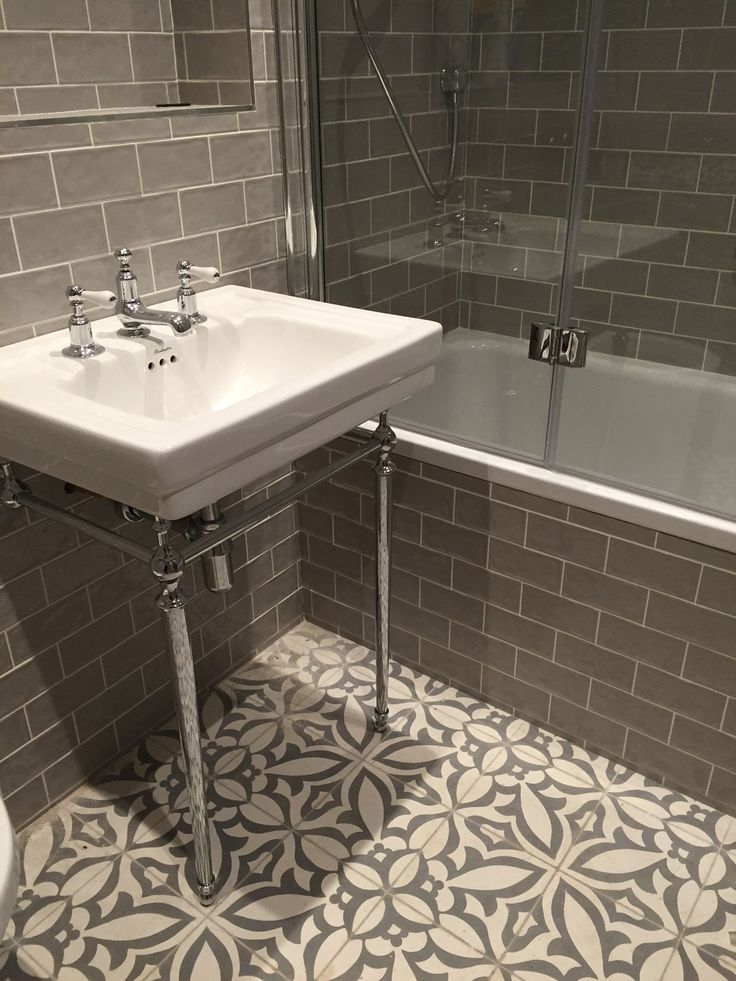Installation Equation Cement Tile Brings Personality to a