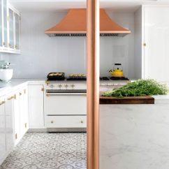 Cement Tile Kitchen Mission Cabinets A Gorgeous Copper Granada