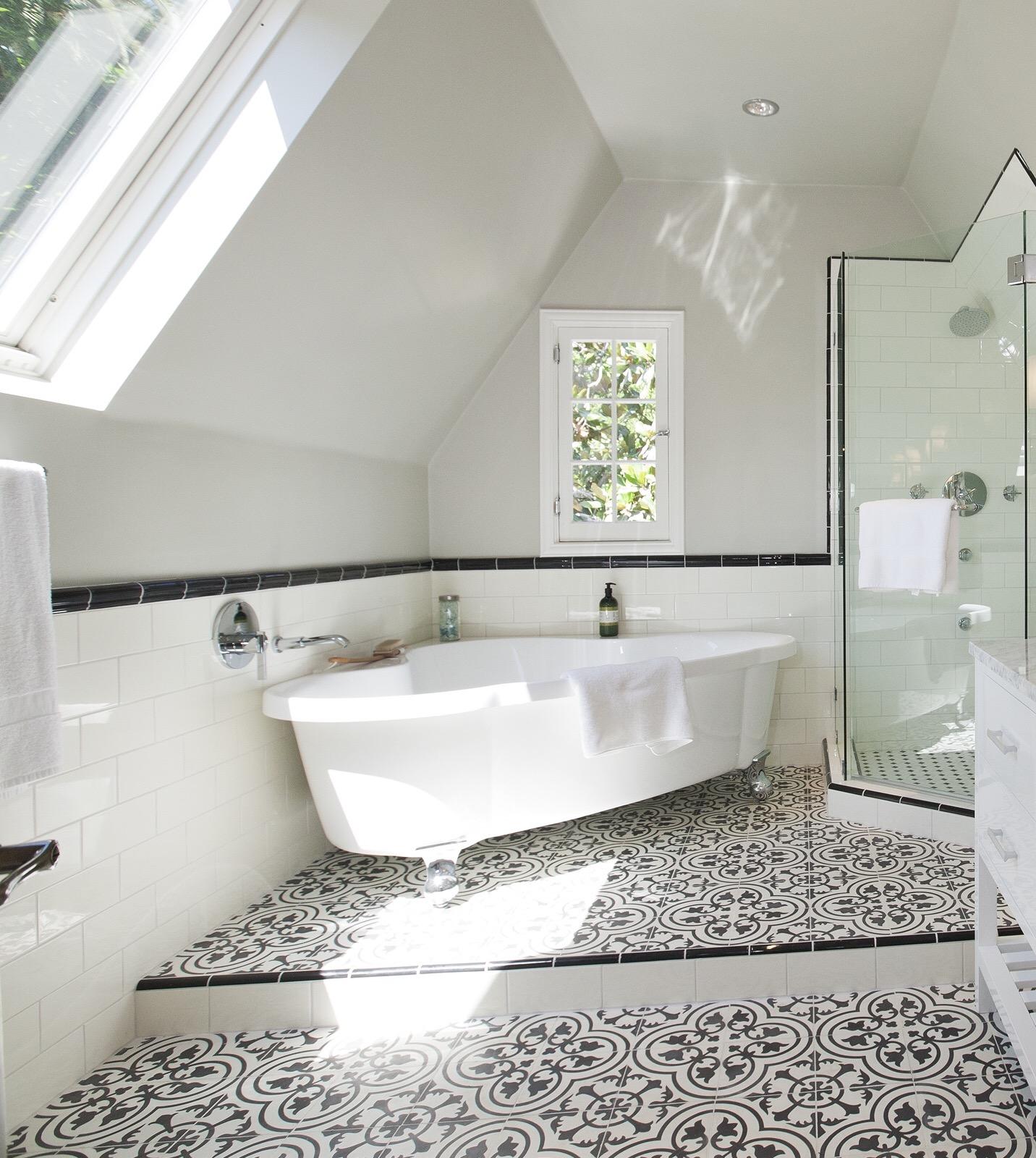 4 Restful Granada Cement Tile Bathrooms  Granada Tile