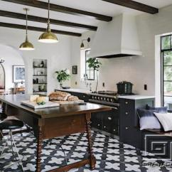 Cement Tile Kitchen Sink Drop In Benefits Of Floors Granada Blog Badajoz Grounds This Industrial Antique Designed By Jessica Helgerson