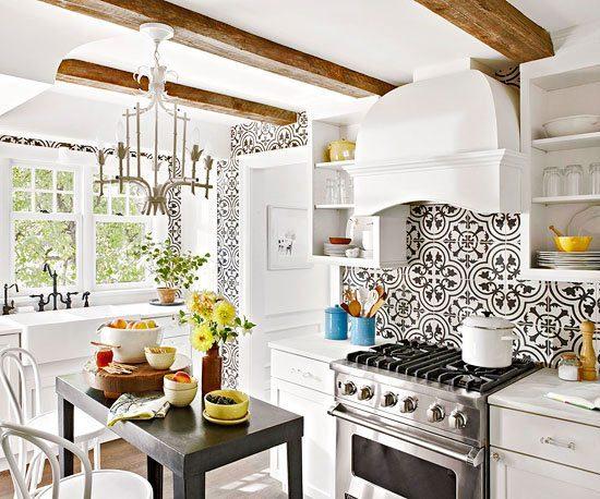 how encaustic tile backsplashes can