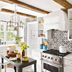 Kitchen Backspash Turquoise Rugs How Encaustic Tile Backsplashes Can Transform Your Granada
