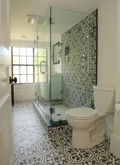 Bathroom Tiles  Cement Bathroom Floor and Wall Tiles