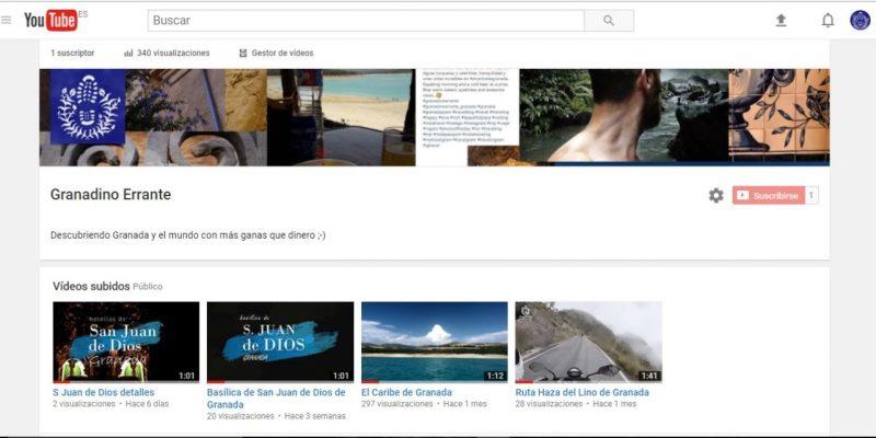 San Juan de Dios canal youtube de Granadino Errante