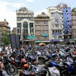 Alquilar un scooter en Katmandú Granadino Errante