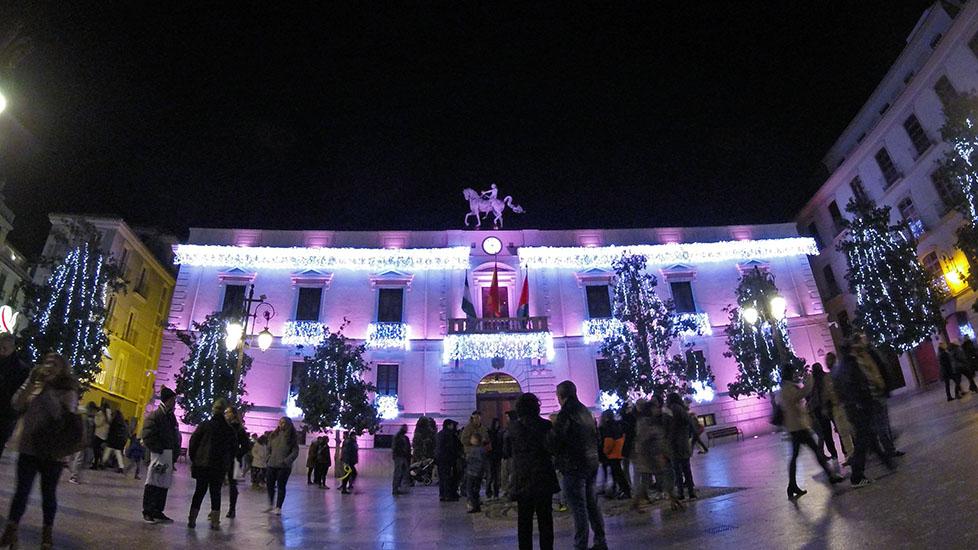 Navidad en Granada Plaza del Carmen