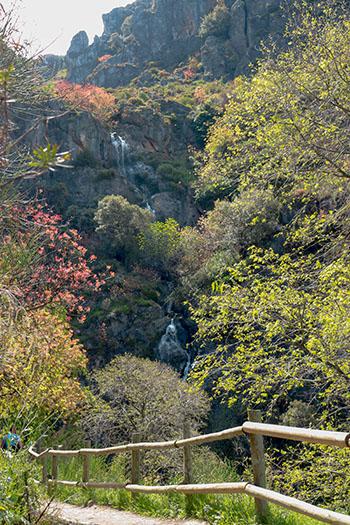 ruta de los Cahorros parque natural