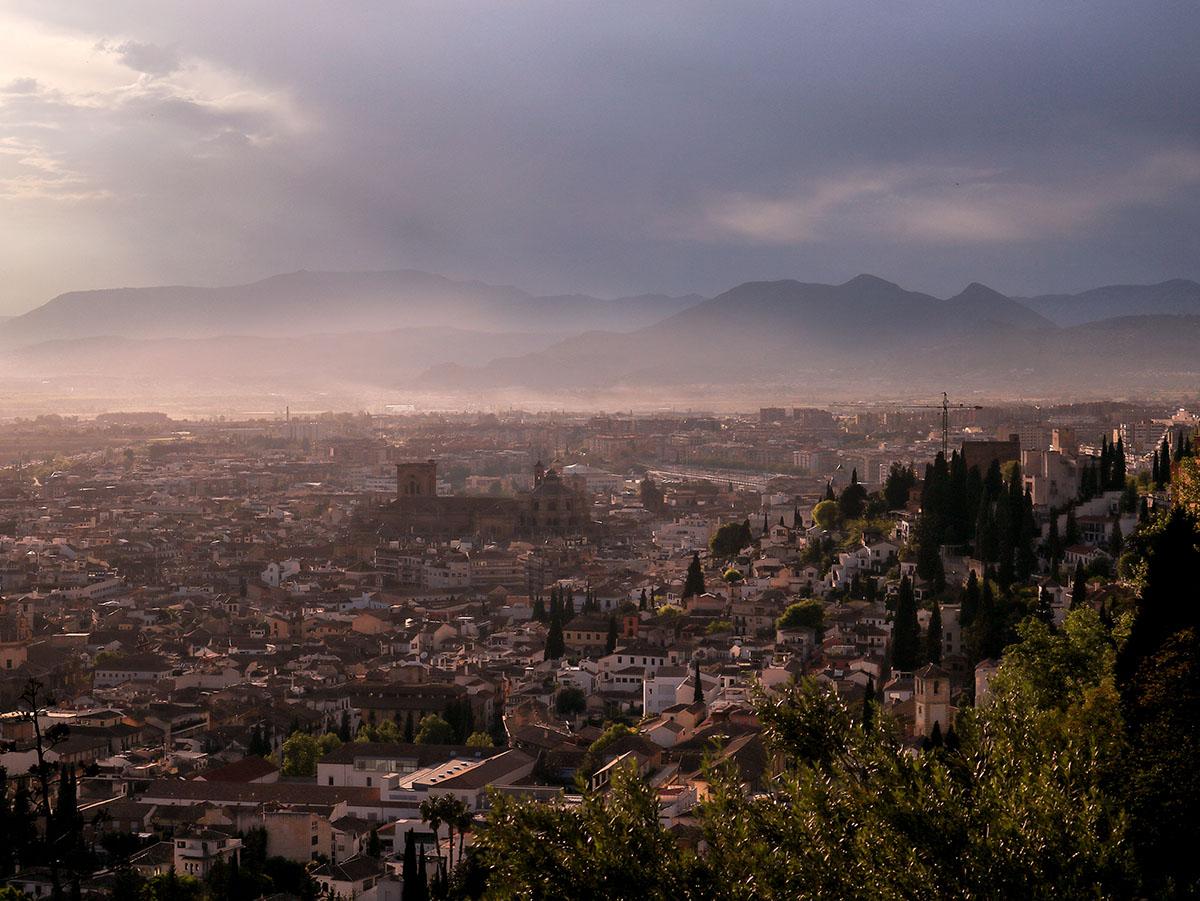 miradores del Barranco del Abogado Granada