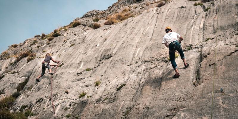 iniciarse a la escalada en Granada Alfacar