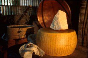 Parmigiano Reggiano forma e porzione