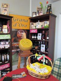 Punto vendita Parmigiano Reggiano vacche rosse Grana d'Oro
