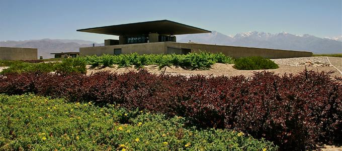 La Botega Fournier à l'architecture avantgardiste dans la région de Mendoza