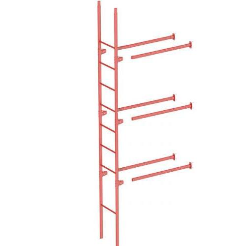 Комплект лестница фасадная BORGE нижняя секция