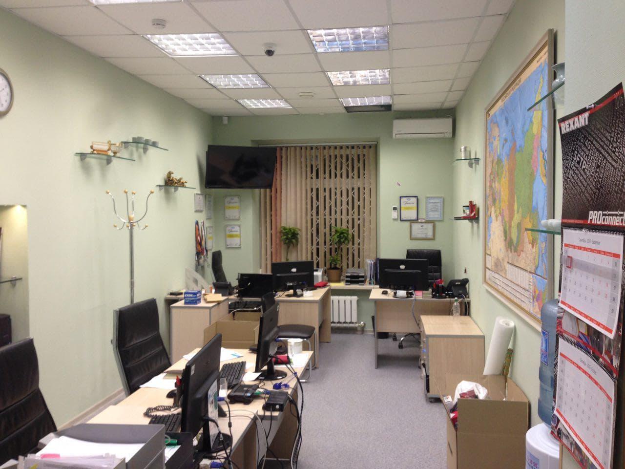 Ремонт офиса по разработанному проекту. г.Москва.