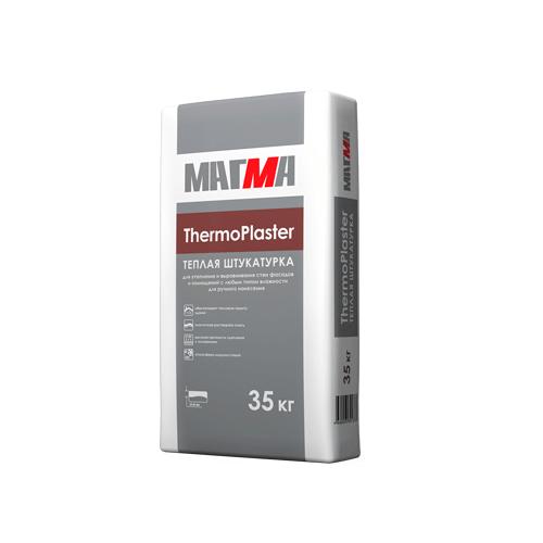 Теплая штукатурка МАГМА «ThermoPlaster»
