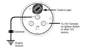 Voltage Gauge Installation Instructions