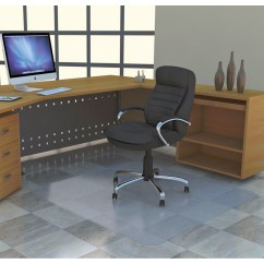 Office Chair Mat 36 X 60 Wheelchair Zumba Dvd Deflecto Smooth Back Polycarbonate Rectangular Chairmat