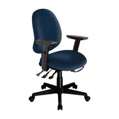 Ergonomic Chair Tilt Belvedere Barber Ergocentric Saffron Mid Back Multi Task