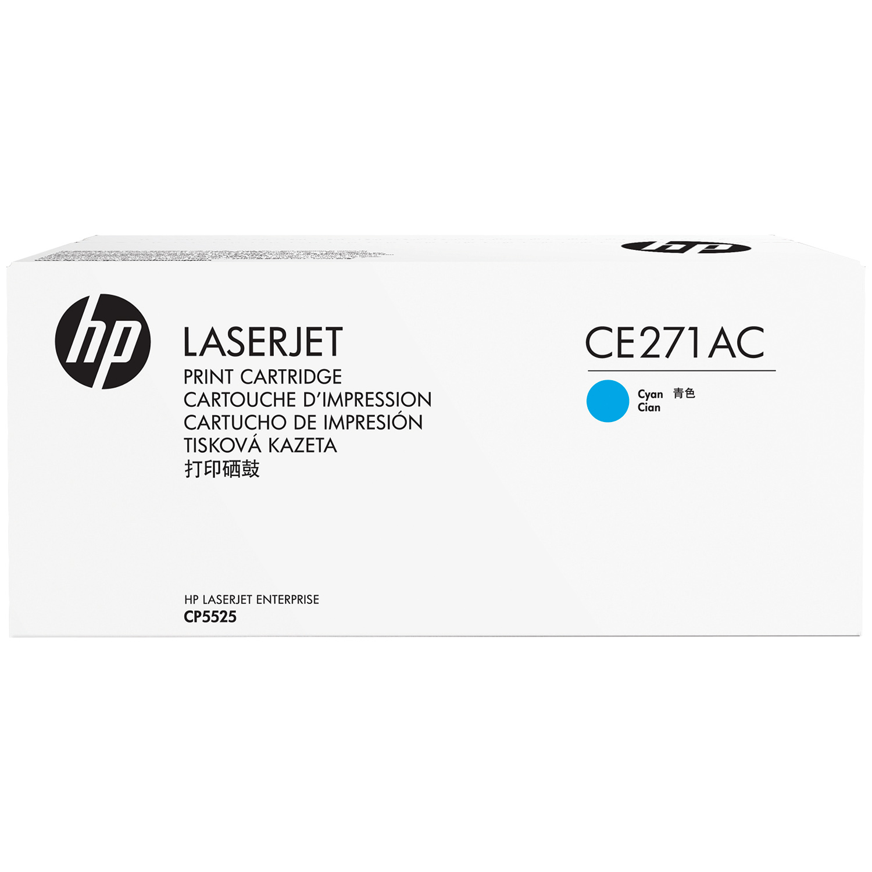 HP 650A Cyan Standard Yield Contract Toner Cartridge