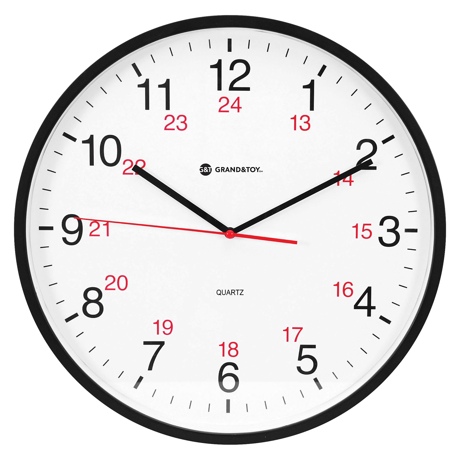 Grand Amp Toy 12 24 Hour 12 Wall Clock