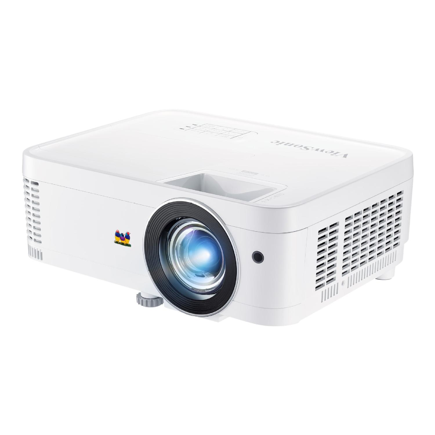ViewSonic 1080p Short Throw Home Theater and Gaming PX706HD - DLP projector - 3D | Grand & Toy
