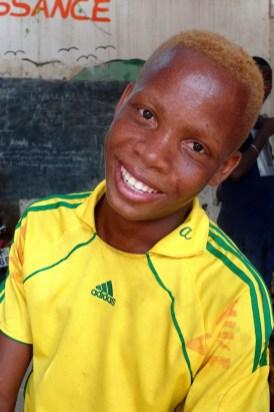 Teint clair -Les enfants de la rue à Lomé