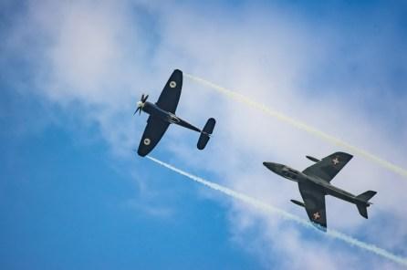 Hawker Sea Fury & Hunter