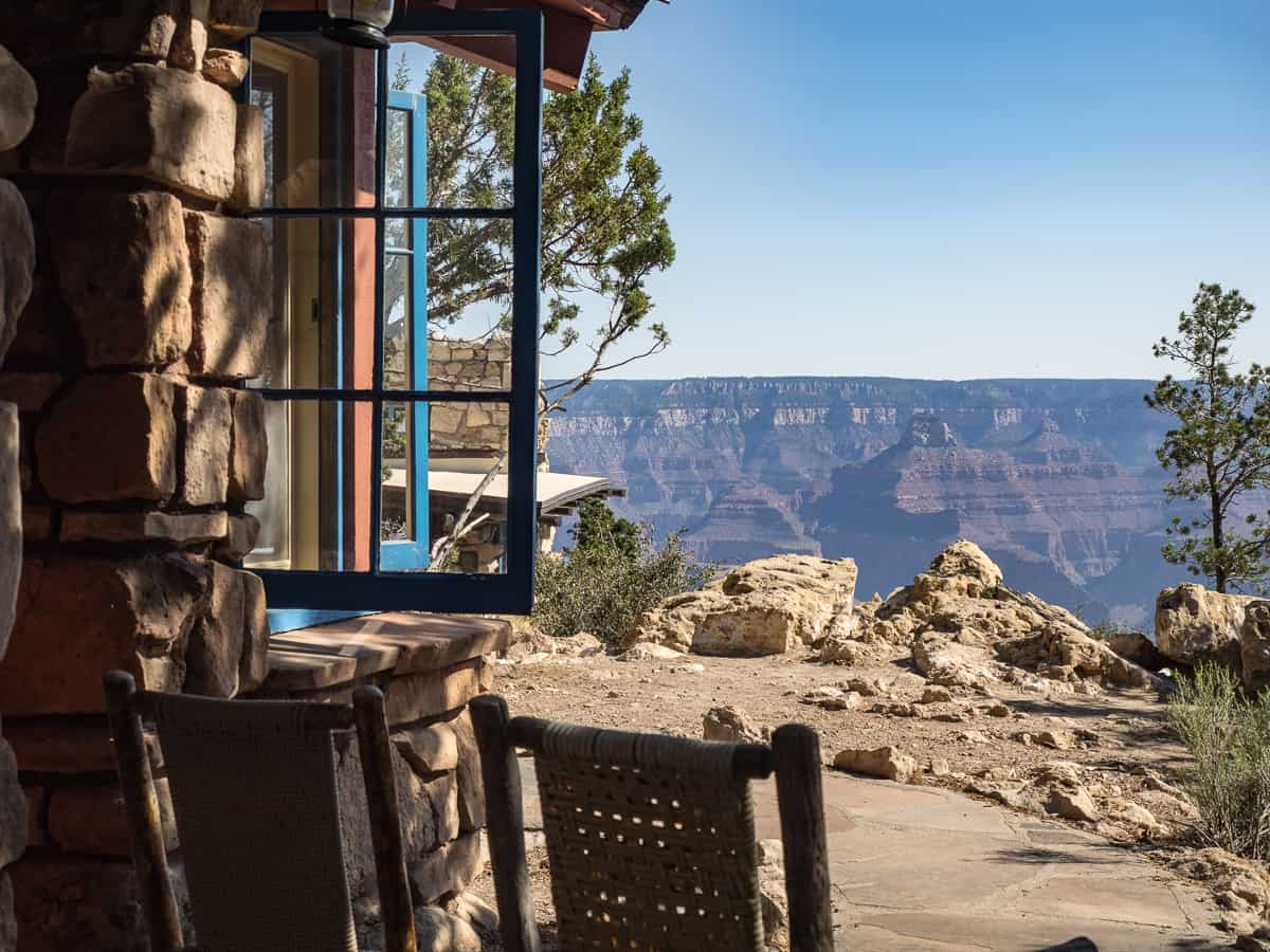 Bright Angel Lodge  Grand Canyon Village Hotel  Grand