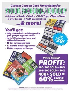 Custom Coupon Card