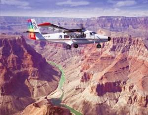 Grand Canyon By Plane