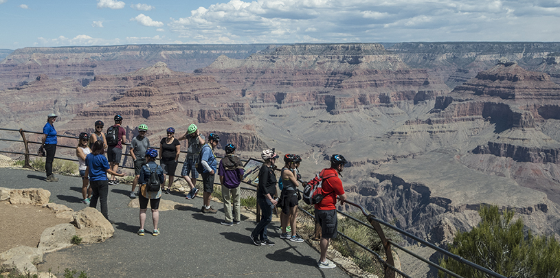 grand canyon in a