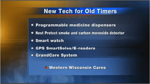 "GrandCare hailed as ""Granddaddy of all Tech Tools for Seniors"" in local news segment"