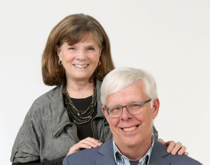 Charlie and Gaytha Hillman, founders of GrandCare, in the West Bend Chamber of Commerce Spotlight