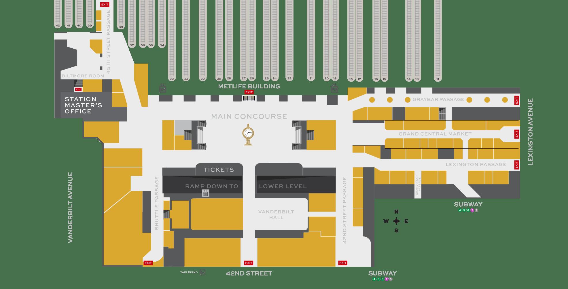 eye diagram of chicken harley davidson wiring diagrams shop & dine - grand central terminal