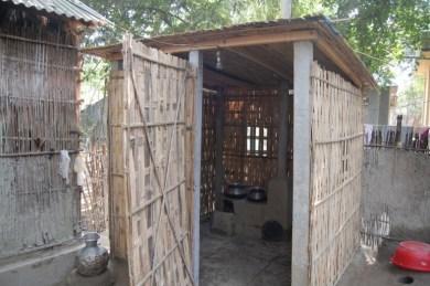 A $100 Kitchen in rural Bangladesh.