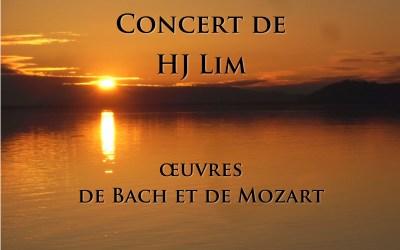 Concert de HJ Lim, œuvres de Bach et de Mozart
