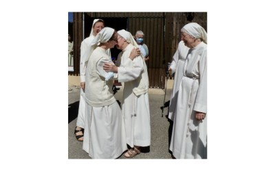 Profession de soeur Svenja à la fête de la Transfiguration