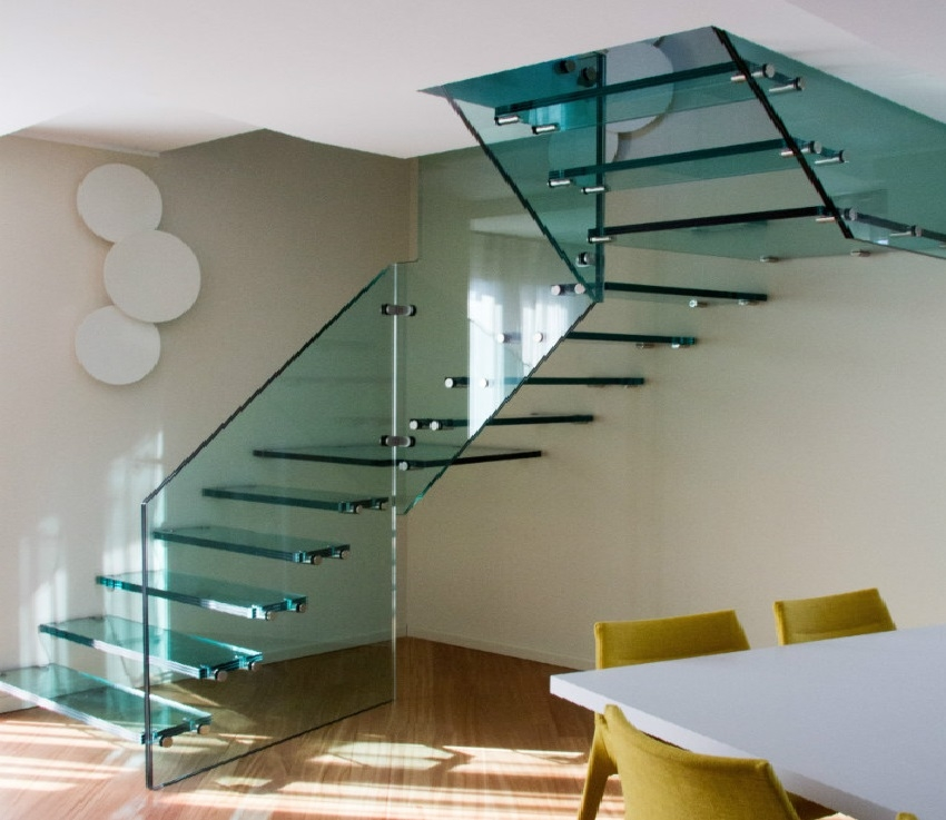 What Is The Price Of A Floating Staircase The Right Price Of | Glass Banisters For Stairs Price | Floating Staircase | Railing | Stair Railing Systems | Stainless Steel | Stair Case