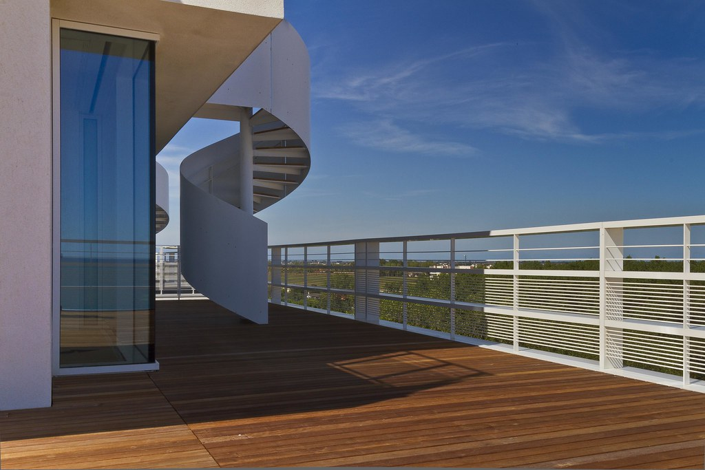 External Staircases Architecture Summer Time 2020