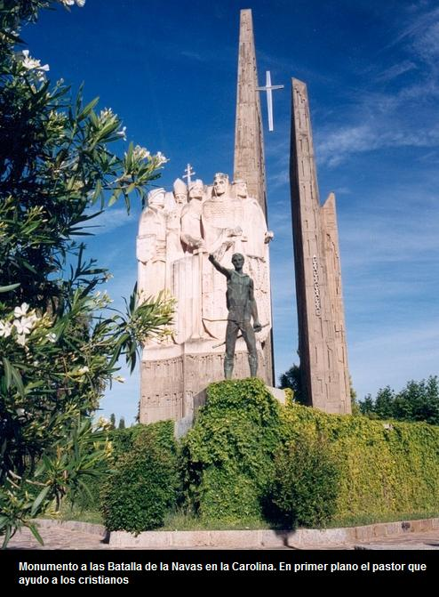 Monumento a las batalla de la Navas en la Carolina