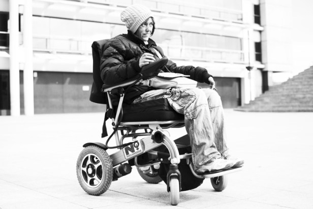 Patri prefiere hablar de diversidad funcional y no de discapacidad