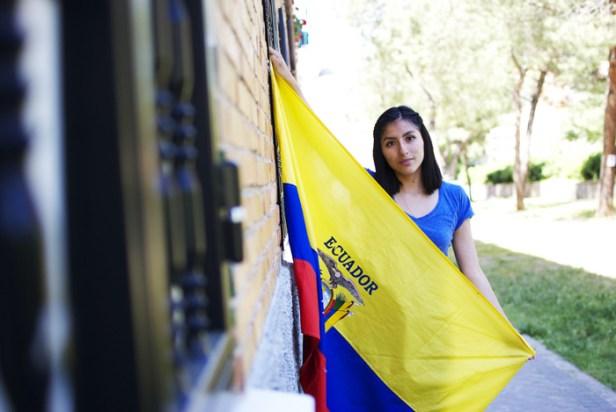 Andrea no puede soportar el racismo que hay en España y Ecuador